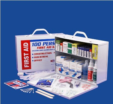 First Aid Kits - 2 Shelf First Aid Cabinet