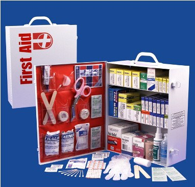 First Aid Kits - 3 Shelf First Aid Cabinet