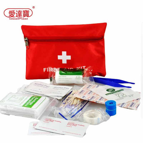 First Aid Kits - Waterproof Mini Outdoor Travel Car First Aid Kit Home Small Medical Box Emergency Survival Kit Household