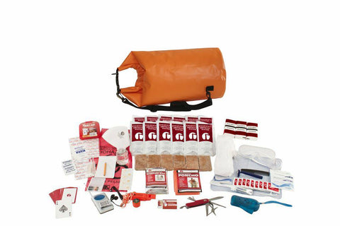 Guardian Deluxe Survival Kit in Waterproof Dry Bag