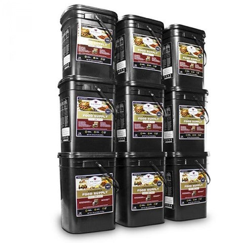 Long Term Food Storage - 1080 Servings Of Wise Emergency Food Storage