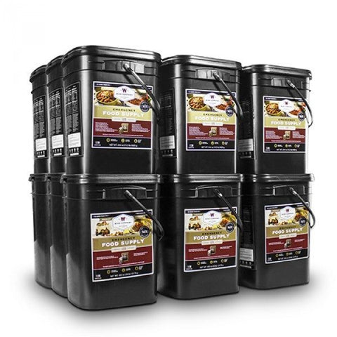 Long Term Food Storage - 2160 Servings Of Emergency Food Storage