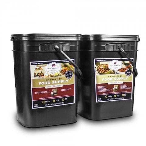 Long Term Food Storage - 240 Serving Meal Package