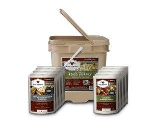 Long Term Food Storage - 60 Serving - Entree Only Grab N Go Bucket