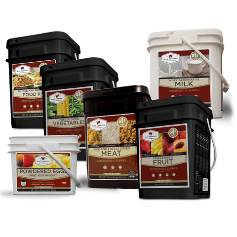 Long Term Food Storage - Gluten-Free Premier Savings Package - 1 Month Supply For 1 Person