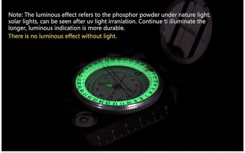 Survival Gear - Eyeskey Waterproof Survival Military Lensatic Compass