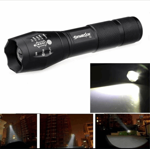 Survival Gear - High Quality 3500 Lumen Torch LED Flashlight