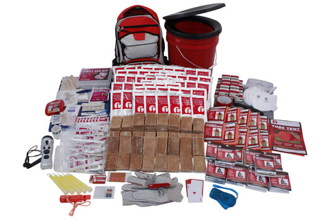 Survival Kit - 10 Person Guardian Deluxe Survival Kit