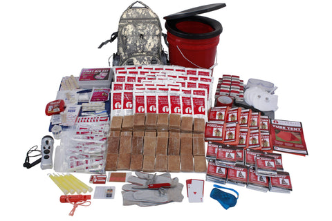 Survival Kit - 10 Person Guardian Deluxe Survival Kit In Camo