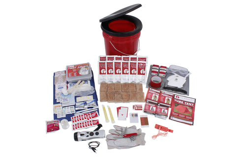 Survival Kit - 2 Person Guardian Bucket Survival Kit