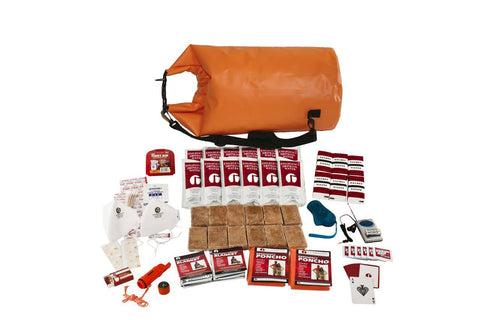 2 Person Guardian Survival Kit in Waterproof Dry Bag
