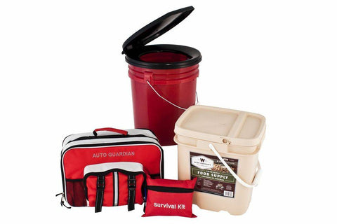 Survival Kit - 4 Person Complete Preparedness Package