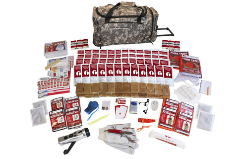 4 Person Elite Survival Kit in Camo