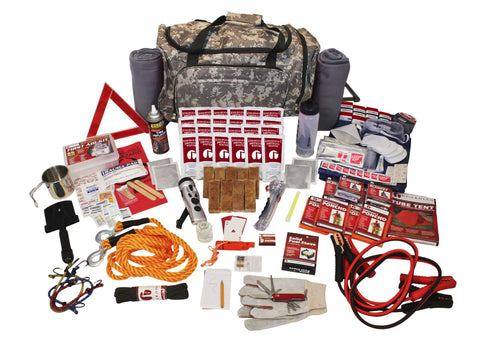 Survival Kit - Family Road Guardian In Camo