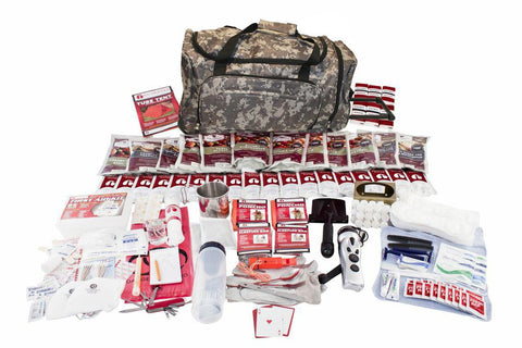 Survival Kit - Guardian Deluxe Food Storage Survival Kit In Camo