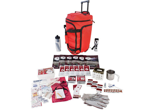 Survival Kit - Guardian Food Storage Survival Kit In Red Wheel Bag