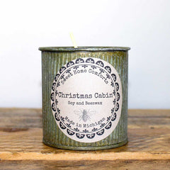 Christmas Cabin 7oz Soy and Beeswax Candle