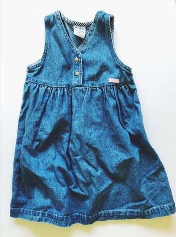 Vintage Oshkosh Jean dress 4-5 years