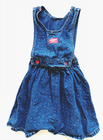 Oshkosh jean dress 5-6 years