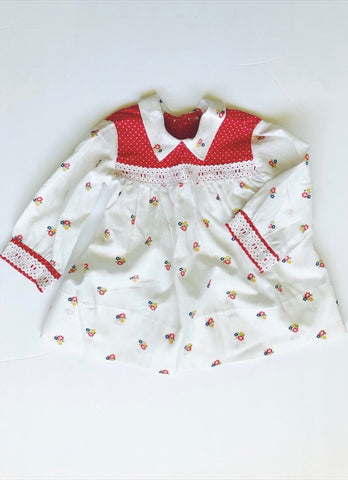 Vintage daisy dress 9-18 months