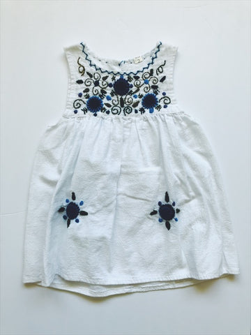 Embroidered dress 24 months