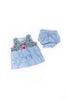 Gingham Ruffle Bloomer Set