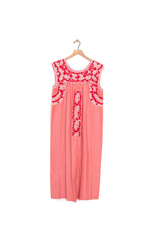 Oaxaca Sleeveless Dress - S/M (Midi)