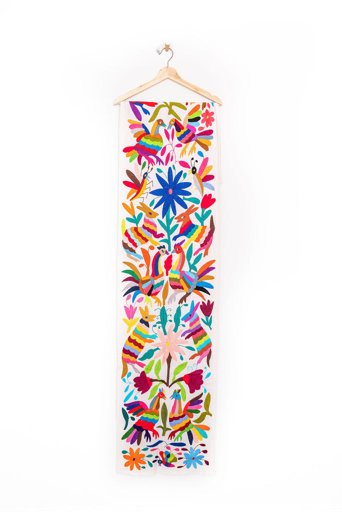 Multi-color Otomi Table Runner