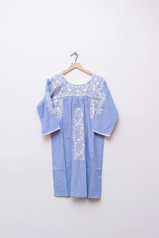 Oaxaca Sleeved Dress - Medium
