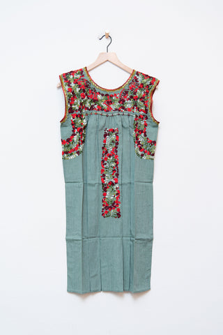 Oaxaca Sleeveless Dress S/M