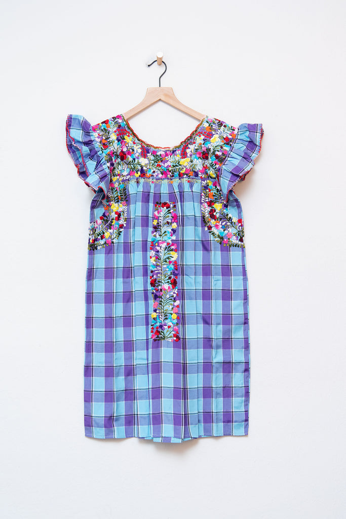 Oaxaca Ruffle Dress - S/M