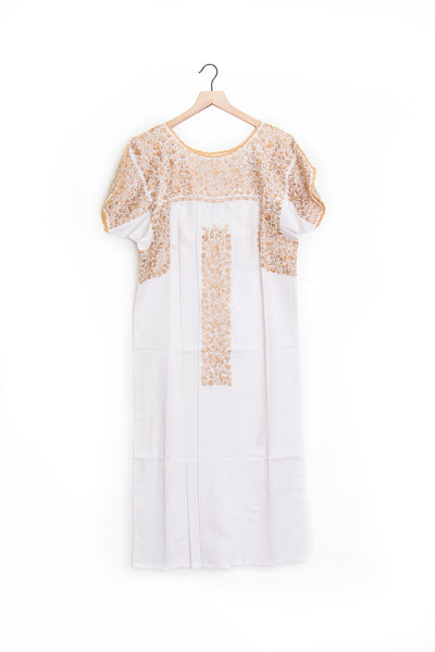 Oaxaca Short Sleeve Dress (ankle) - L