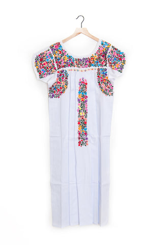 Oaxaca Short Sleeve Dress (ankle) - S