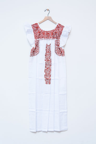 Oaxaca Ruffle Dress (Ankle) - XS/S