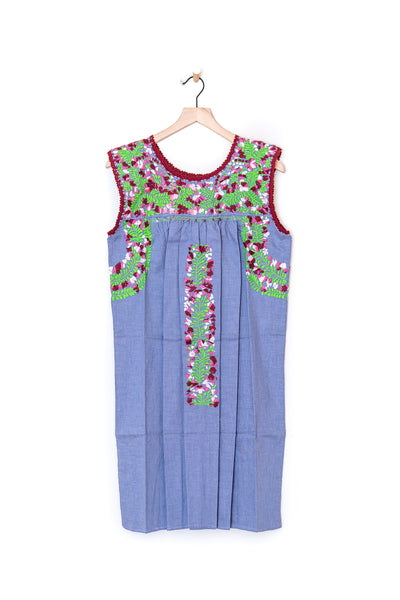 Oaxaca Sleeveless Dress - S/M
