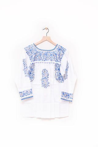 Oaxaca 3/4 Sleeve Top - Small