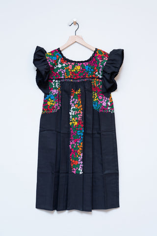 Oaxaca Ruffle Dress - XS