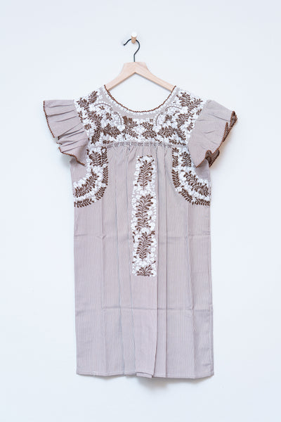 Oaxaca Ruffle Dress - Medium