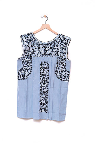 Oaxaca Sleeveless Top - Large