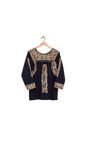 Oaxaca 3/4 Sleeve Top - Medium