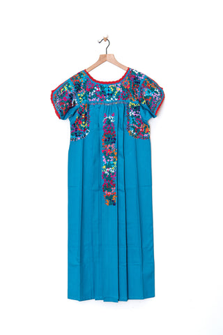 Oaxaca Short Sleeve Dress - Small