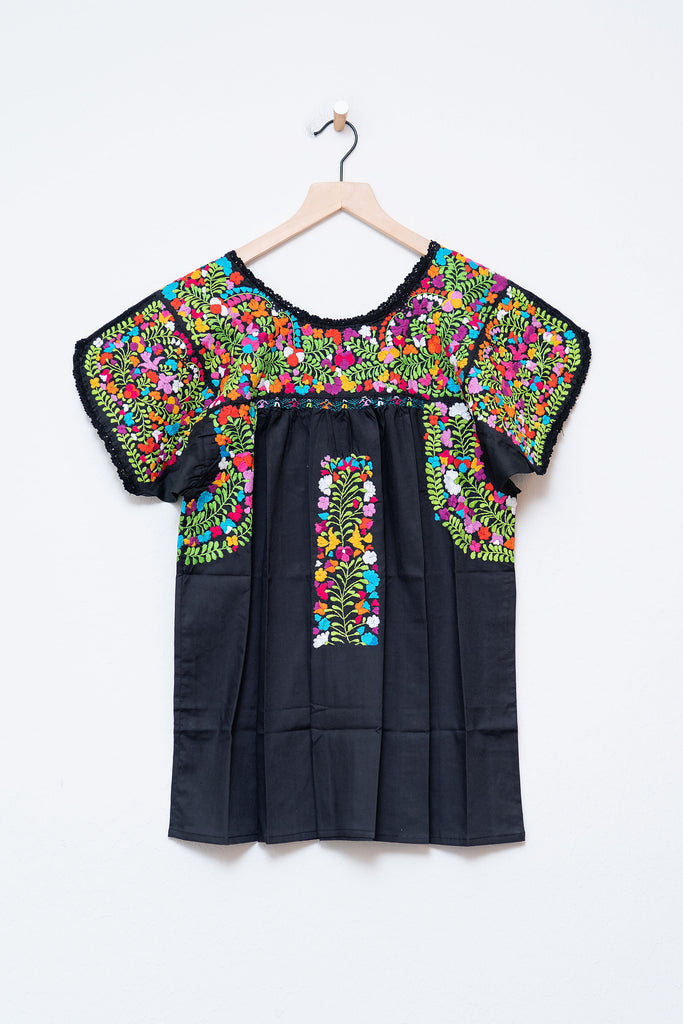 Oaxaca Short Sleeve Top - Medium