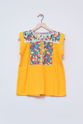 Punto De Cruz Yellow Top - S/M