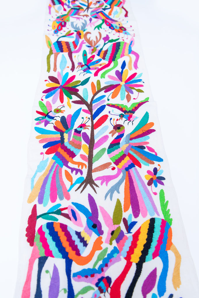 Otomi Multi Color Table Runner