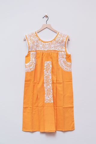 Oaxaca Orange Dress