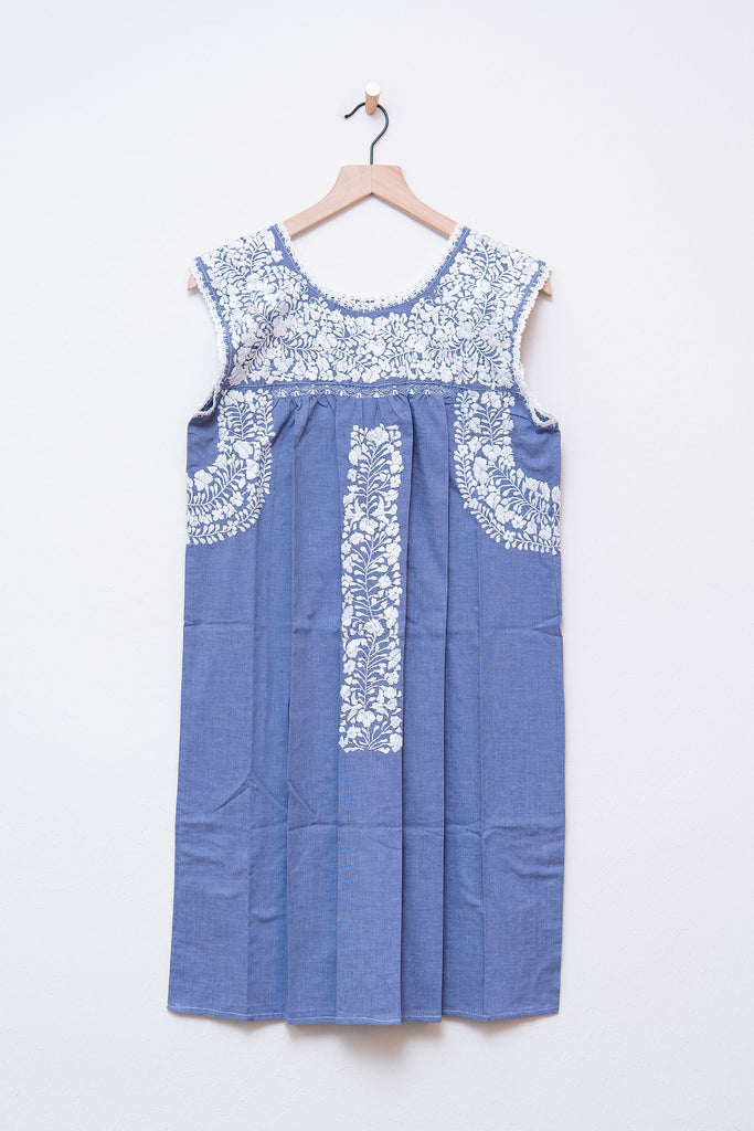 Oaxaca Blue Dress