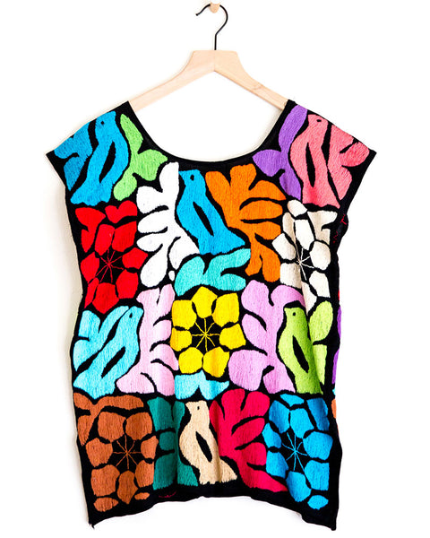 Pajarito Multi Colored Top