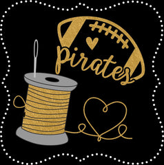 PIRATE FOOTBALL GEAR