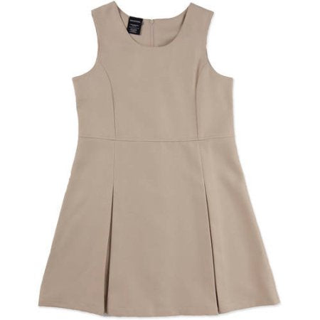 OSLS - Girls Jumper Dress with Logo Added