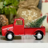 PRE-ORDER - Vintage Truck Christmas Ornament